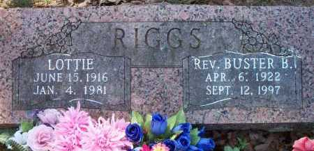 RIGGS, REV BUSTER B - Sebastian County, Arkansas | REV BUSTER B RIGGS - Arkansas Gravestone Photos