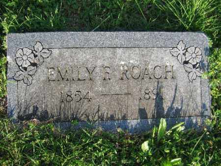 ROACH, EMILY F. - Sebastian County, Arkansas | EMILY F. ROACH - Arkansas Gravestone Photos