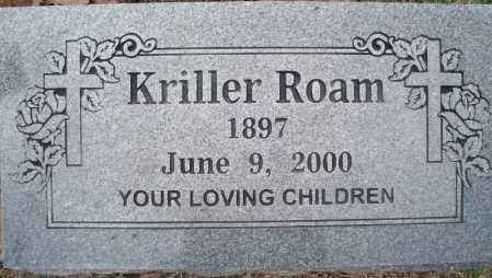 ROAM, KRILLER - Sebastian County, Arkansas | KRILLER ROAM - Arkansas Gravestone Photos