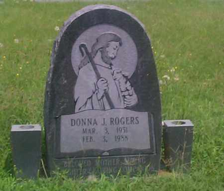 ROGERS, DONNA J. - Sebastian County, Arkansas | DONNA J. ROGERS - Arkansas Gravestone Photos