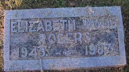 WADE ROGERS, ELIZABETH - Sebastian County, Arkansas | ELIZABETH WADE ROGERS - Arkansas Gravestone Photos