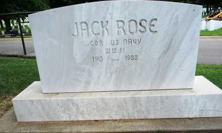 ROSE, (VETERAN WWII), JACK - Sebastian County, Arkansas | JACK ROSE, (VETERAN WWII) - Arkansas Gravestone Photos