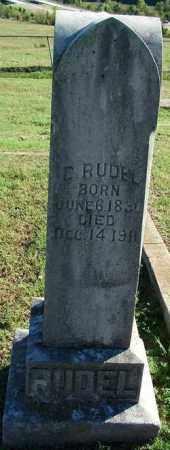 RUDEL, C. - Sebastian County, Arkansas | C. RUDEL - Arkansas Gravestone Photos