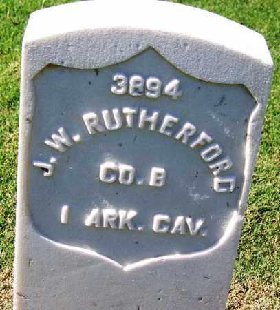 RUTHERFORD (VETERAN UNION), J W - Sebastian County, Arkansas | J W RUTHERFORD (VETERAN UNION) - Arkansas Gravestone Photos