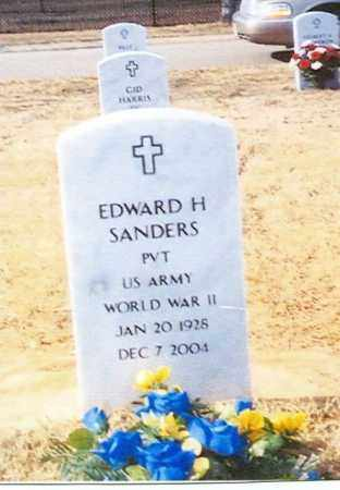 SANDERS (VETERAN WWII), EDWARD - Sebastian County, Arkansas | EDWARD SANDERS (VETERAN WWII) - Arkansas Gravestone Photos