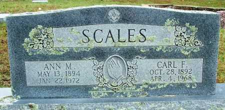 SCALES, CARL F. - Sebastian County, Arkansas | CARL F. SCALES - Arkansas Gravestone Photos