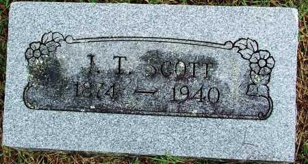 SCOTT, J. T. - Sebastian County, Arkansas   J. T. SCOTT - Arkansas Gravestone Photos