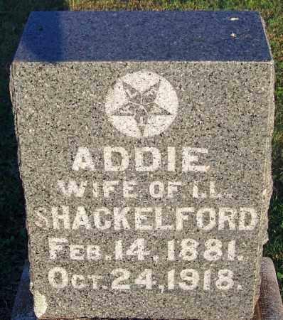 SHACKLEFORD, ADDIE - Sebastian County, Arkansas   ADDIE SHACKLEFORD - Arkansas Gravestone Photos
