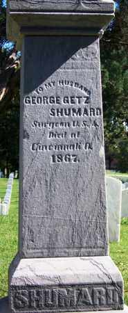 SHUMARD (VETERAN UNION), GEORGE GETZ - Sebastian County, Arkansas | GEORGE GETZ SHUMARD (VETERAN UNION) - Arkansas Gravestone Photos