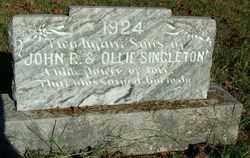 SINGLETON, INFANT SON - Sebastian County, Arkansas   INFANT SON SINGLETON - Arkansas Gravestone Photos