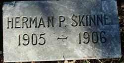 SKINNER, HERMAN P. - Sebastian County, Arkansas | HERMAN P. SKINNER - Arkansas Gravestone Photos
