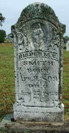SMITH, BIRDEN M. C. - Sebastian County, Arkansas   BIRDEN M. C. SMITH - Arkansas Gravestone Photos