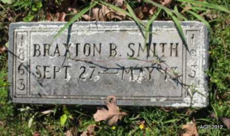 SMITH, BRAXTON B - Sebastian County, Arkansas | BRAXTON B SMITH - Arkansas Gravestone Photos