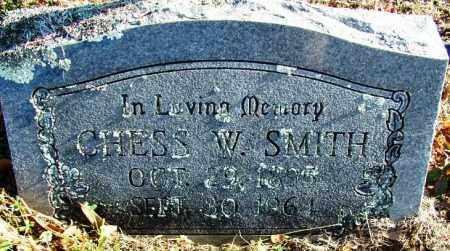 SMITH, CHESS W - Sebastian County, Arkansas   CHESS W SMITH - Arkansas Gravestone Photos