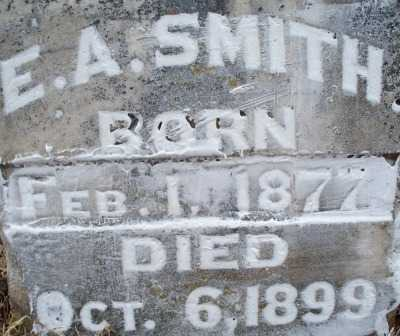 SMITH, E A - Sebastian County, Arkansas | E A SMITH - Arkansas Gravestone Photos