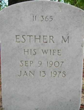 SMITH, ESTHER M - Sebastian County, Arkansas | ESTHER M SMITH - Arkansas Gravestone Photos