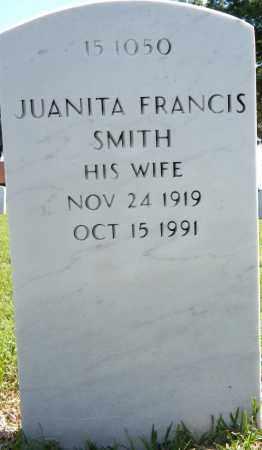 SMITH, JUANITA FRANCIS - Sebastian County, Arkansas   JUANITA FRANCIS SMITH - Arkansas Gravestone Photos