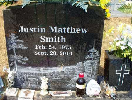 SMITH, JUSTIN MATTHEW - Sebastian County, Arkansas   JUSTIN MATTHEW SMITH - Arkansas Gravestone Photos