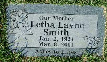 SMITH, LETHA - Sebastian County, Arkansas | LETHA SMITH - Arkansas Gravestone Photos