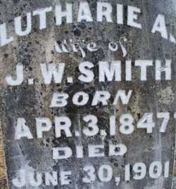 SMITH, LUTHARIE A - Sebastian County, Arkansas | LUTHARIE A SMITH - Arkansas Gravestone Photos