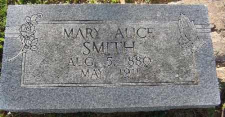 SMITH, MARY ALICE - Sebastian County, Arkansas   MARY ALICE SMITH - Arkansas Gravestone Photos