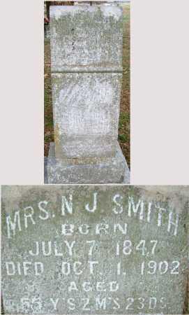 SMITH, MRS N J - Sebastian County, Arkansas | MRS N J SMITH - Arkansas Gravestone Photos