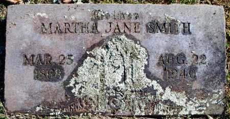 SMITH, MARTHA JANE - Sebastian County, Arkansas | MARTHA JANE SMITH - Arkansas Gravestone Photos