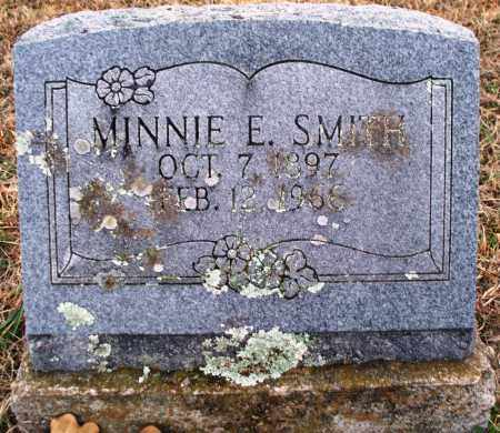 SMITH, MINNIE E - Sebastian County, Arkansas   MINNIE E SMITH - Arkansas Gravestone Photos