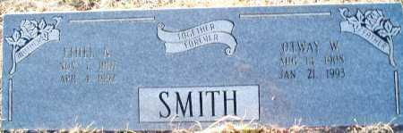 SMITH, OTWAY W - Sebastian County, Arkansas | OTWAY W SMITH - Arkansas Gravestone Photos