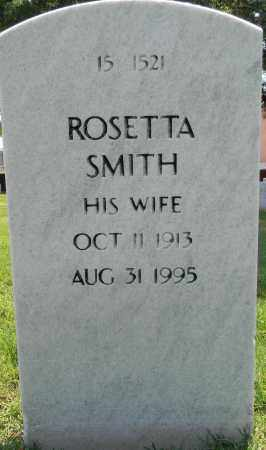 SMITH, ROSETTA - Sebastian County, Arkansas   ROSETTA SMITH - Arkansas Gravestone Photos