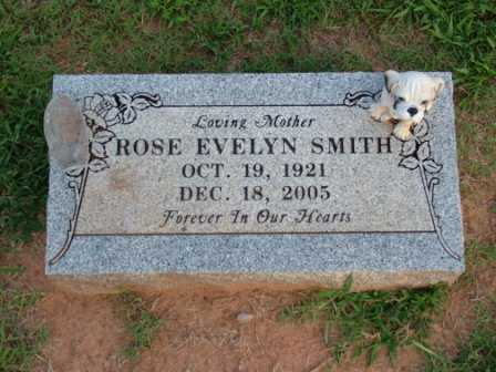 SMITH, ROSE EVELYN - Sebastian County, Arkansas | ROSE EVELYN SMITH - Arkansas Gravestone Photos