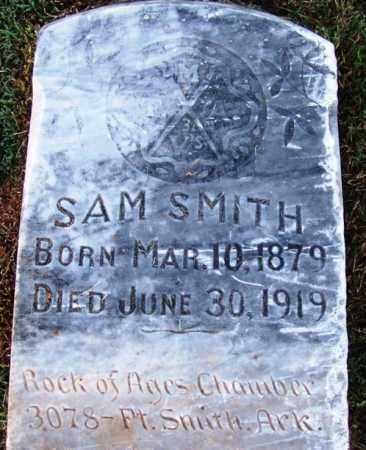 SMITH, SAM - Sebastian County, Arkansas   SAM SMITH - Arkansas Gravestone Photos