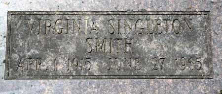 SMITH, VIRGINIA - Sebastian County, Arkansas   VIRGINIA SMITH - Arkansas Gravestone Photos