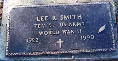 SMITH (VETERAN WWII), LEE R - Sebastian County, Arkansas | LEE R SMITH (VETERAN WWII) - Arkansas Gravestone Photos