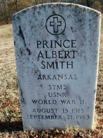 SMITH (VETERAN WWII), PRINCE ALBERT - Sebastian County, Arkansas | PRINCE ALBERT SMITH (VETERAN WWII) - Arkansas Gravestone Photos