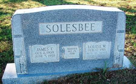 SOLESBEE, JAMES T. - Sebastian County, Arkansas   JAMES T. SOLESBEE - Arkansas Gravestone Photos