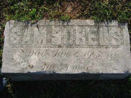 SORELS, SAM - Sebastian County, Arkansas | SAM SORELS - Arkansas Gravestone Photos