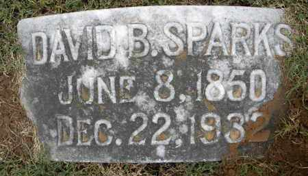 SPARKS, DAVID BENNETT - Sebastian County, Arkansas | DAVID BENNETT SPARKS - Arkansas Gravestone Photos