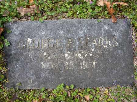 SPARKS, GEORGE P - Sebastian County, Arkansas | GEORGE P SPARKS - Arkansas Gravestone Photos