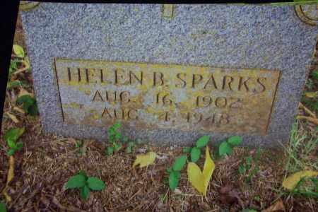 SPARKS, HELEN B - Sebastian County, Arkansas   HELEN B SPARKS - Arkansas Gravestone Photos