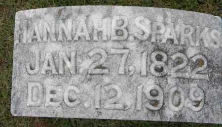 SPARKS, HANNAH - Sebastian County, Arkansas | HANNAH SPARKS - Arkansas Gravestone Photos