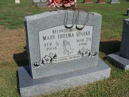SPARKS, MARY THELMA - Sebastian County, Arkansas | MARY THELMA SPARKS - Arkansas Gravestone Photos