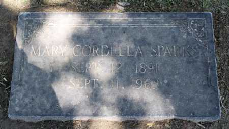 SPARKS, MARY CORDELLA - Sebastian County, Arkansas   MARY CORDELLA SPARKS - Arkansas Gravestone Photos