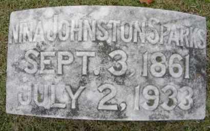 SPARKS, NINA - Sebastian County, Arkansas | NINA SPARKS - Arkansas Gravestone Photos