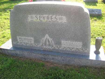 SPYRES, WM. LOGAN - Sebastian County, Arkansas | WM. LOGAN SPYRES - Arkansas Gravestone Photos