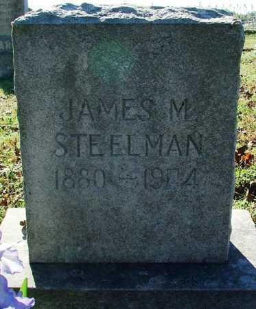 STEELMAN, JAMES M. - Sebastian County, Arkansas | JAMES M. STEELMAN - Arkansas Gravestone Photos