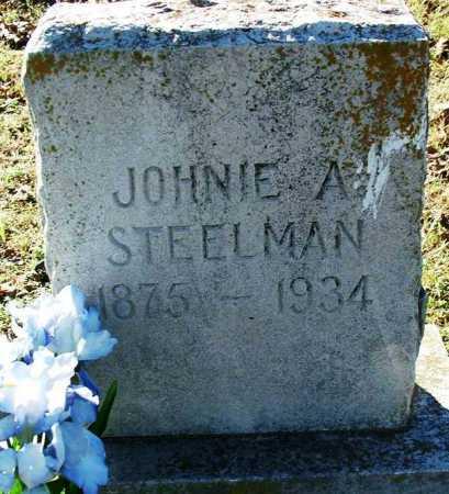 STEELMAN, JOHNIE A. - Sebastian County, Arkansas   JOHNIE A. STEELMAN - Arkansas Gravestone Photos