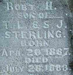 STERLING, ROBERT H. (2) - Sebastian County, Arkansas | ROBERT H. (2) STERLING - Arkansas Gravestone Photos