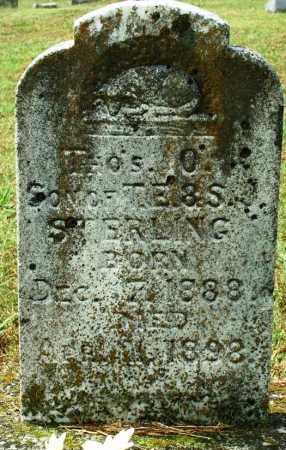 STERLING, THO'S O. - Sebastian County, Arkansas | THO'S O. STERLING - Arkansas Gravestone Photos