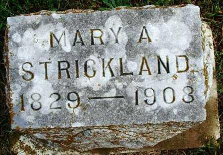 STRICKLAND, MARY A - Sebastian County, Arkansas   MARY A STRICKLAND - Arkansas Gravestone Photos